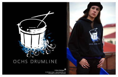 OCHS Drumline 2008 Hoodie by mirako-hikaru