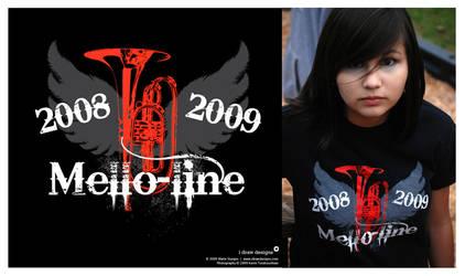 OCHS Mellophones 2008 - Shirt by mirako-hikaru