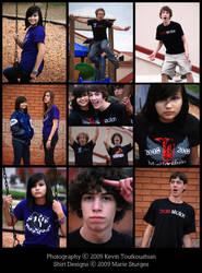 OCHS Band Shirts Photoshoot by mirako-hikaru