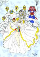Masquerade Senshi- Cosmos/ ChibiChibi by CrystalSetsuna