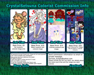Colorist Commission Prices by CrystalSetsuna
