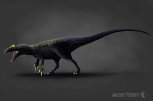 Neovenator Salerii by AlternatePrehistory