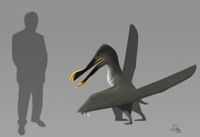 Coloborhynchus sp. by AlternatePrehistory