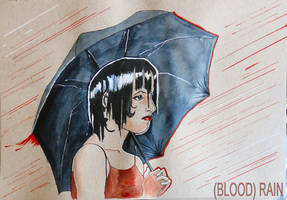 Eighth Day of Inkmass - (BLOOD) RAIN by marygentle