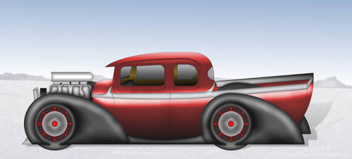salt flat dreamz a classic hot rod pickup by bloodbath03