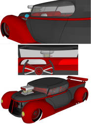 dream pickup truck in 3d another view by bloodbath03