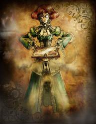Steampunk Project - Doris McKellar by MadAndPerplexed