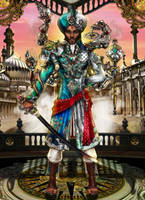 Steampunk Project- HRH Raja Aseem Nishad by MadAndPerplexed