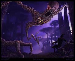 Thorn Demon by Vaghauk