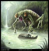 Borneo Slime Monster by Vaghauk