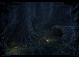 The Howling Forest by Vaghauk