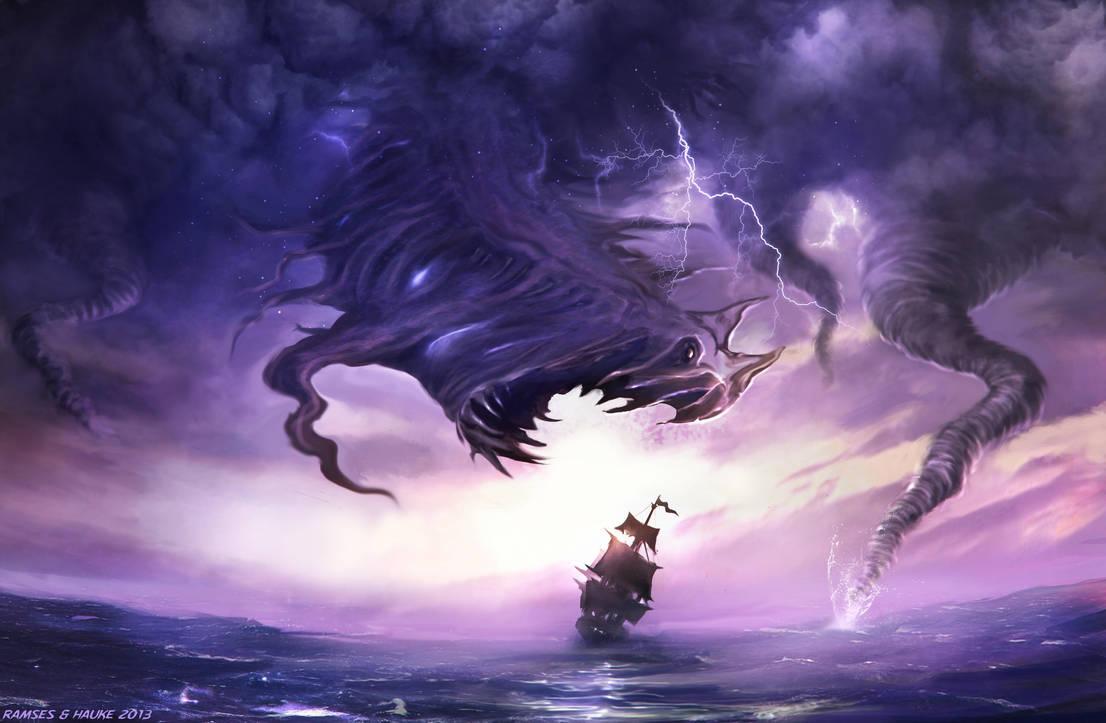 Atmospheric Monsters by Vaghauk