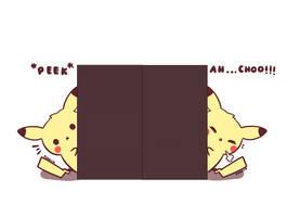 peek-ah..choo! by pikaira