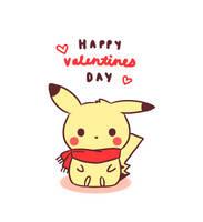 Happy Valentines Day 2014 by pikaira