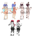 Cute Bunny girls Collab Adopt OTA Open by Leo-Adopt