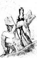 Wolverine and x23 by kevinmellon