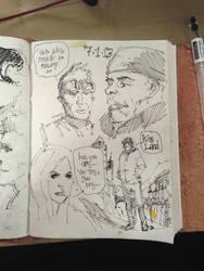 Sketchbook stuff by kevinmellon