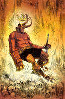 Hellboy by kevinmellon