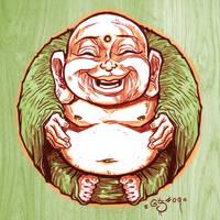 buddha by pencil-ambush