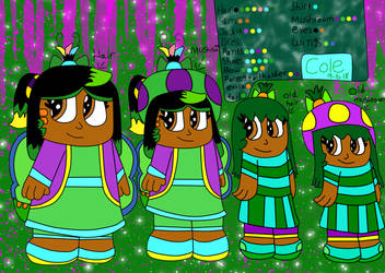 Cole The Toad Reference Sheet With Bio by KoopalingAndMarioFan
