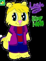(OC) Loerto The Chipmunk Redesigned With Bio by KoopalingAndMarioFan