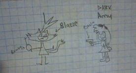 Dark Amy vs Blaze by Amy3kforever