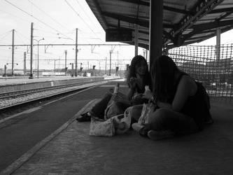 Along The Tracks 1 by alex-kun