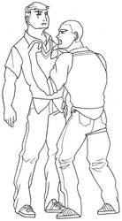 Bully - Gary Smith and Jimmy Hopkins by trucbiduleBond