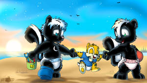 Day at the beach by Tavi-Munk