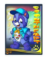 Scoutheart Raccoon Tag by Tavi-Munk