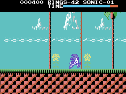 MSX/Colecovision makeover: Sonic the Hedgehog by TrueBlueMichael