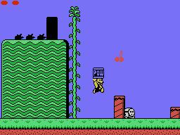 MSX/Colecovision makeover: Super Mario Bros. 2 USA by TrueBlueMichael