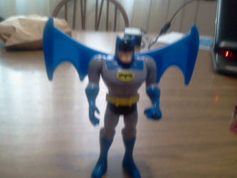 Flying Batman by KiwiJr