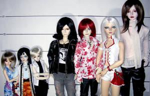 The lineup by Aoi-kajin
