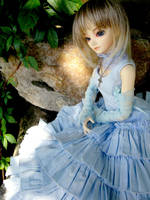 Blue Lady by Aoi-kajin