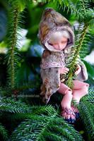 He Climbs a Tree by Aoi-kajin