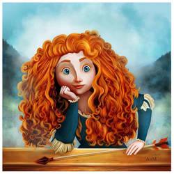 Brave by Niniel-Illustrator