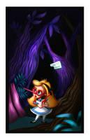 Alice In Wonderland by Niniel-Illustrator