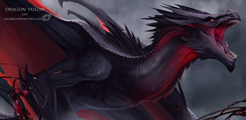 Dragon Vizaell Vulom by IrenBee