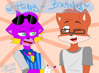 HAPPY BIRTHDAY EDWARD ! by BlueBearys
