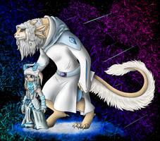 Naila and Nooni by XUranusX