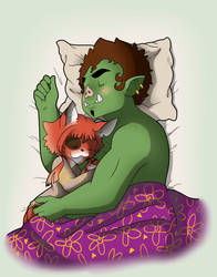 Little Dragon Cafe: Sleep Tight by Mcbutt3r