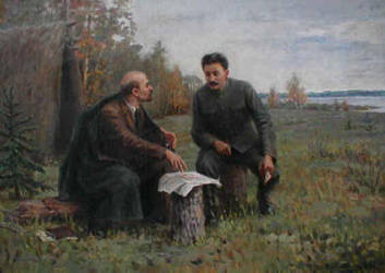 Lenin and Stalin by MasterVader01