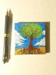 Tiny Painting by TheOnlyCountFilth