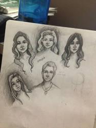 Some SPN heads by SweetnessnaRose
