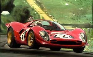 Nino at the '67 Targa Florio by JamesWoodhead