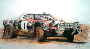 Lancia Stratos in Action by JamesWoodhead