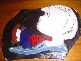 Linus paper-mache by YouHaveAShortMemory
