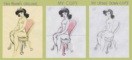 Don Bluth University - Draftsmanship, Week 3C by YouHaveAShortMemory