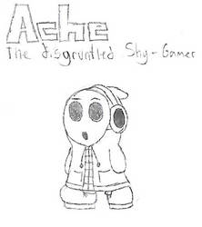 (Outdated) Ache the Disgruntled Shy-Gamer by ShyGamer108